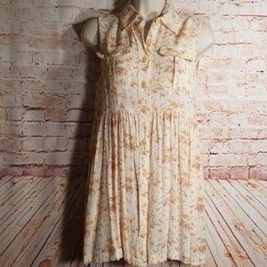 Banana Republic | Button Up Tunic-Dress NWOT